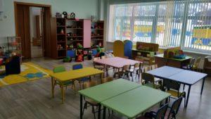 место для занятий с детьми