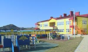 площадка перед детским садом для игр и прогулок